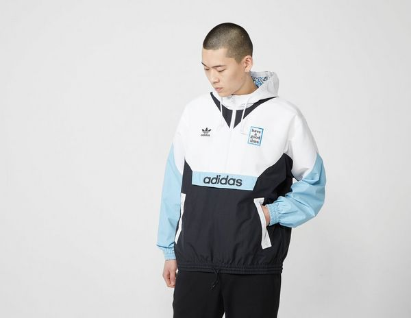 adidas Originals x Have a Good Time Half-Zip Pullover Windbreaker