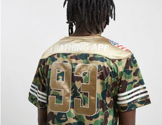 e0a01942 adidas x BAPE Football Jersey | Footpatrol