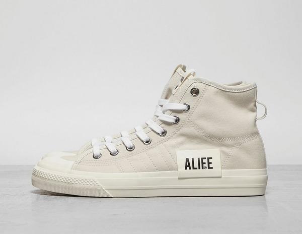 Alife x adidas Consortium Nizza Hi White For Sale – The Sole