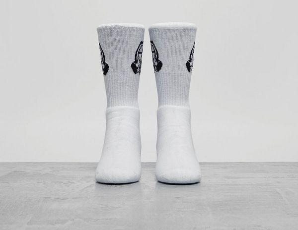 Footpatrol Gas Mask Logo Socks