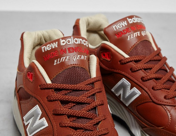 new balance 991 marrone