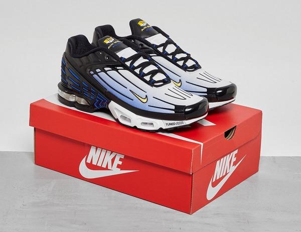 Nike TN Air Max Plus 3 Blue Black | CJ9684 001