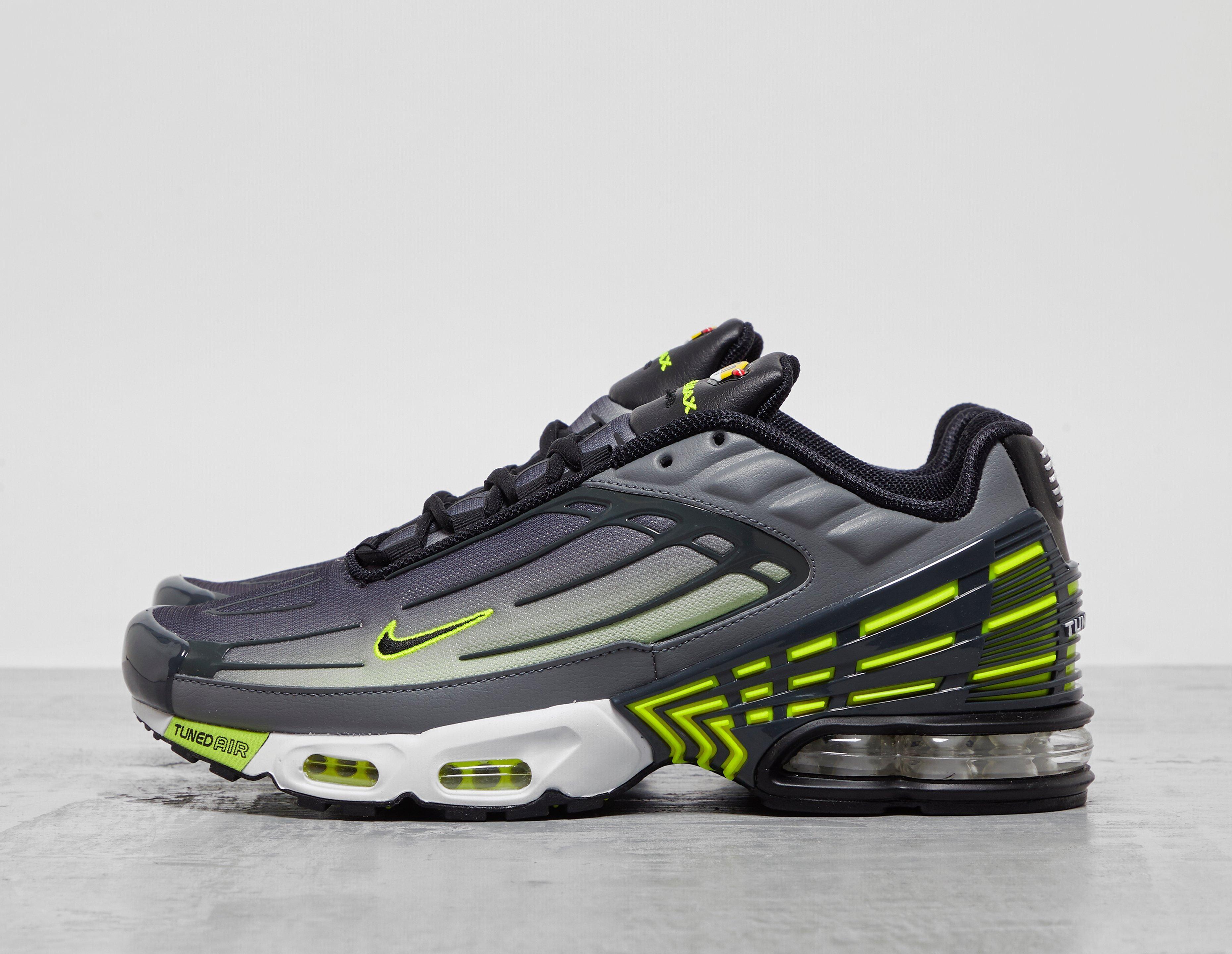 Nike TN Air Max Plus 3 Grey Volt