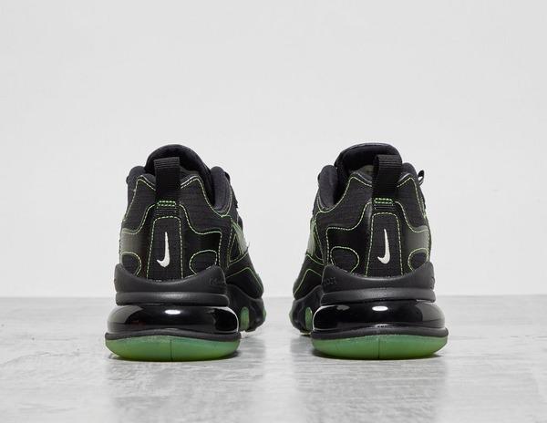 nike air max 270 react black electric green
