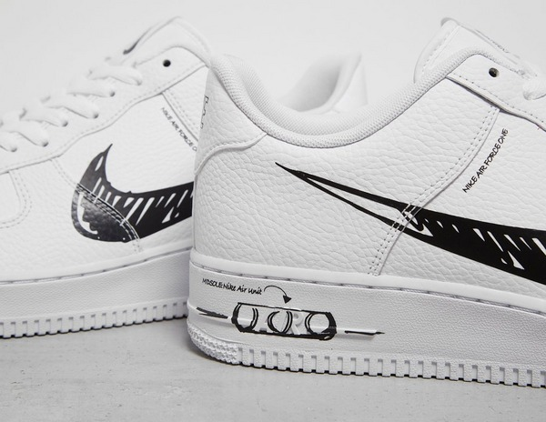 Acquista Nike Air Force 1 LV8 Utility 'Sketch' in Bianco
