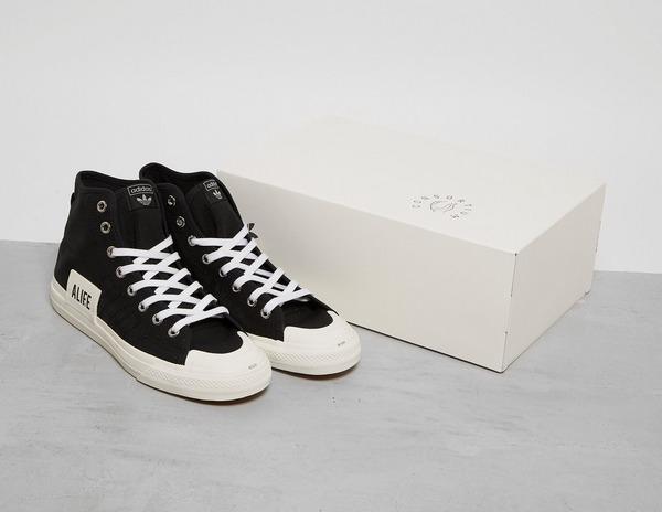 Black adidas Originals x ALIFE Nizza Hi   Footpatrol