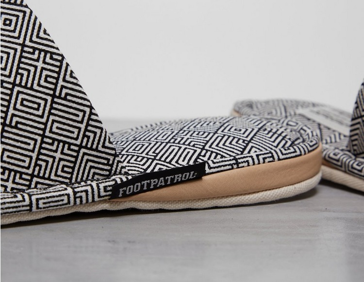Footpatrol x FABRICK Slippers