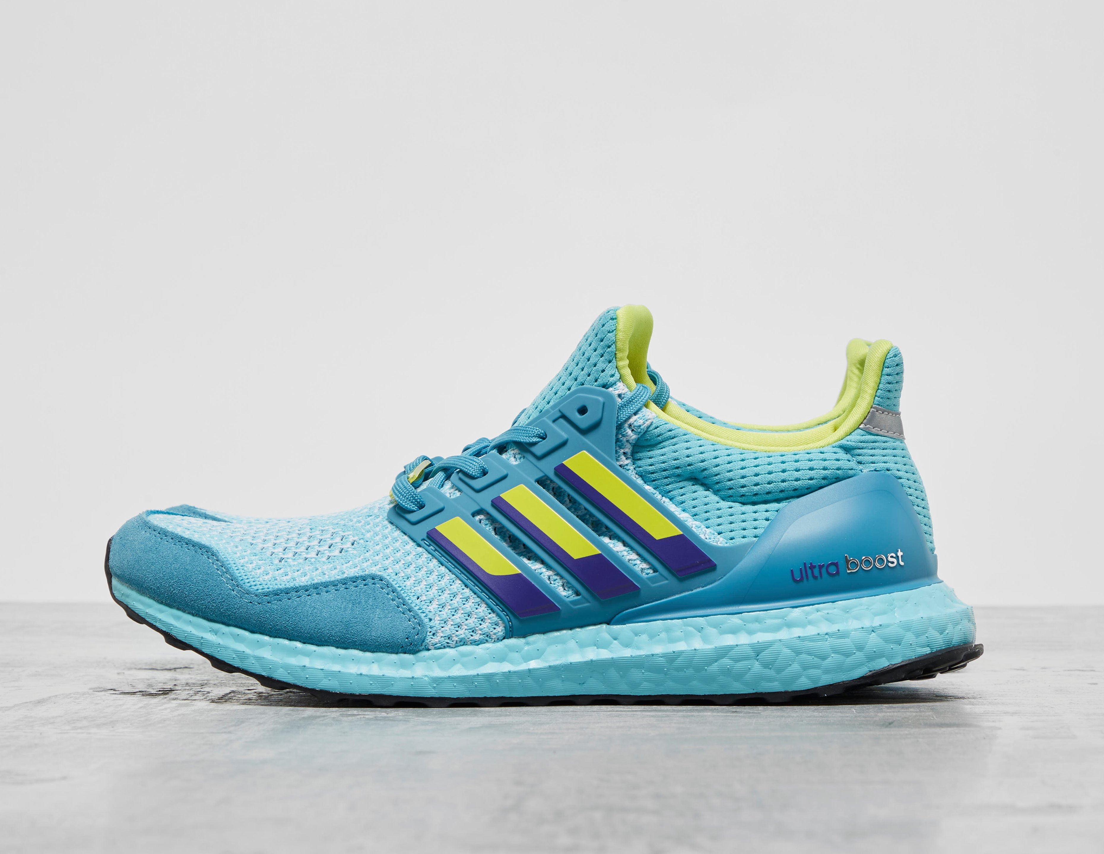 Blue adidas Originals Ultraboost 1.0 DNA 'ZX'   Gov