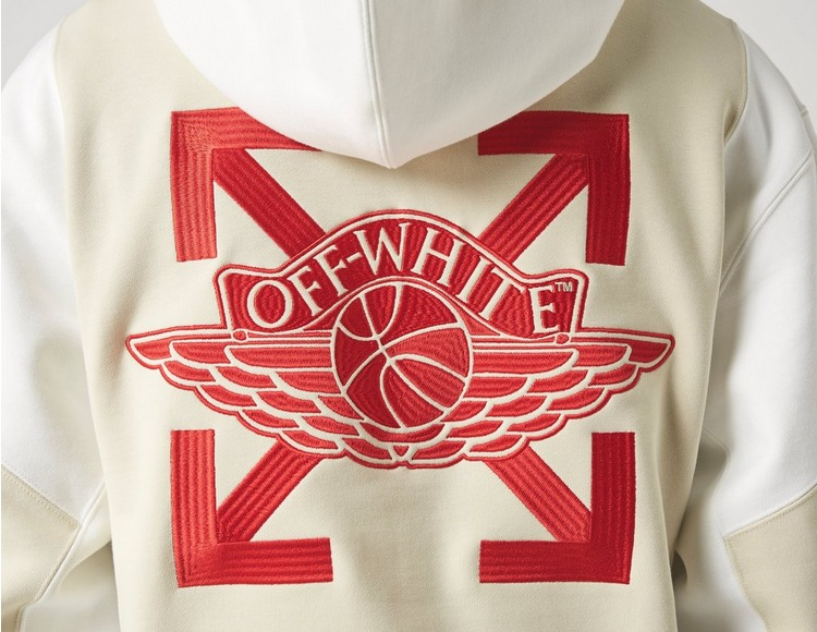 Jordan x Off-White Fleece Pullover Hoodie
