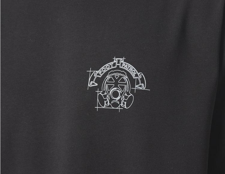 Footpatrol Graph Gasmask T-Shirt