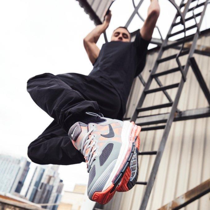 Nike Air Max Genome Grey / Black / Mango