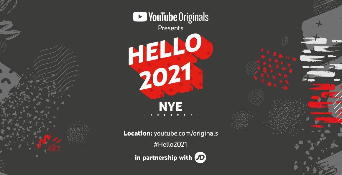 Youtube Hello 2021 x JD Sports