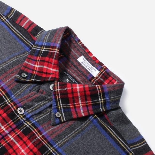 Engineered Garments Brushed Plaid 19 Century BD Shirt