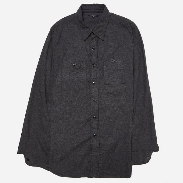 Engineered Garments Cotton Flannel Work Shirt