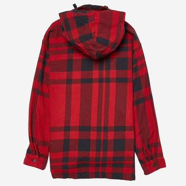 Engineered Garments Big Plaid Cagoule Shirt