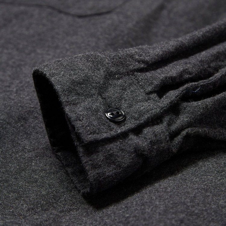 Engineered Garments Cotton Flannel Cagoule Shirt Jacket