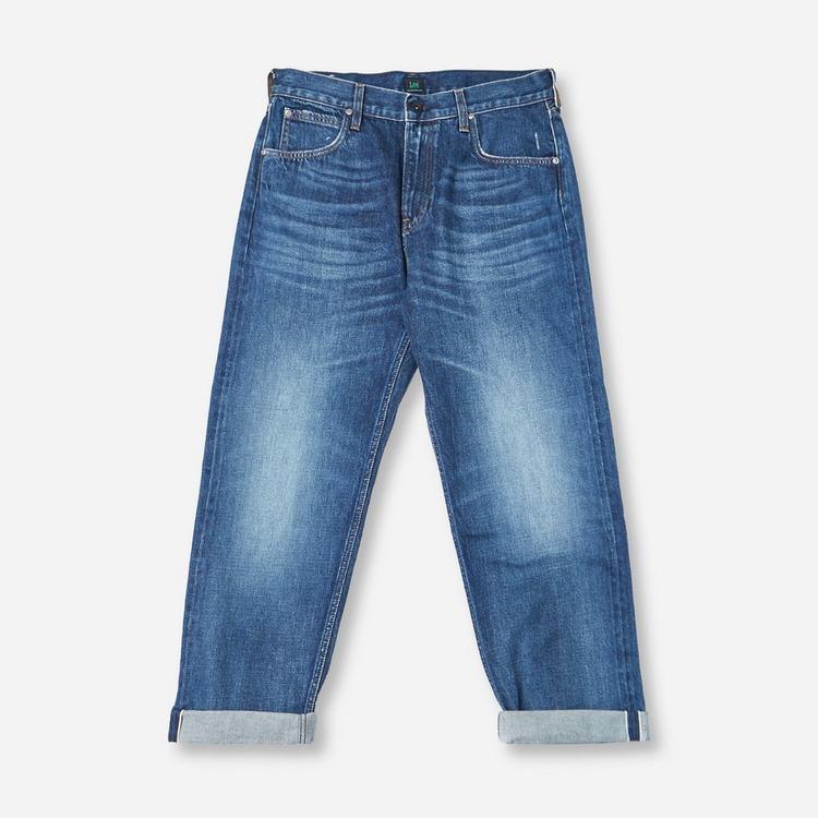 Lee Lee Loose Straight Wide Leg Jean