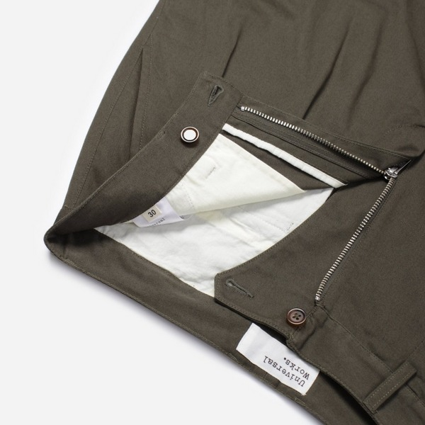 Universal Works Twill Double Pleat Pant