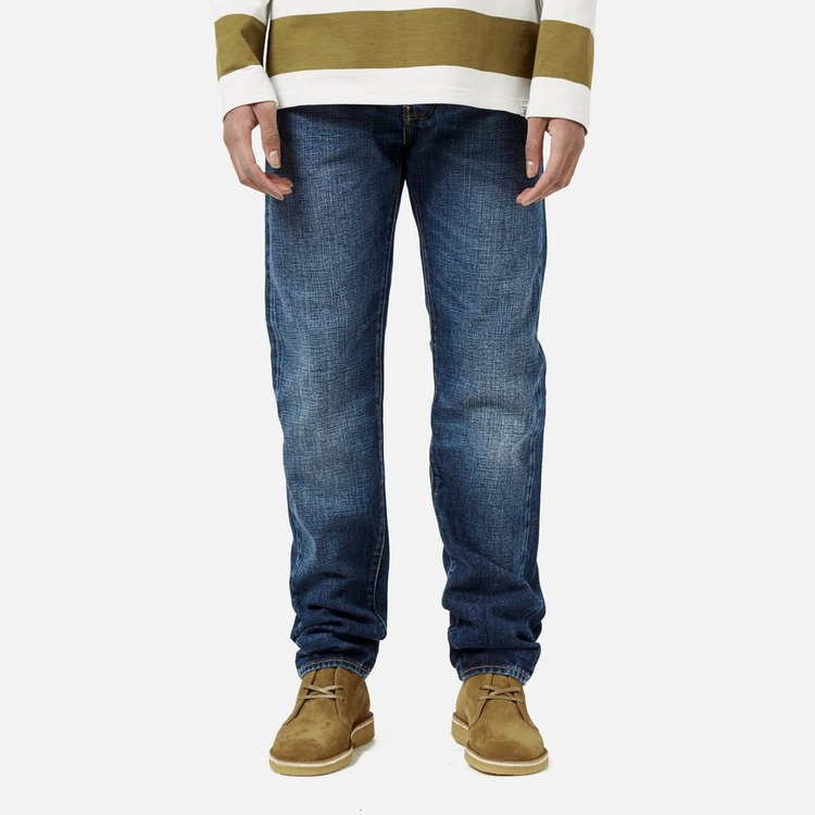Edwin Edwin ED-80 Red Listed Selvage Contrast Clean Wash