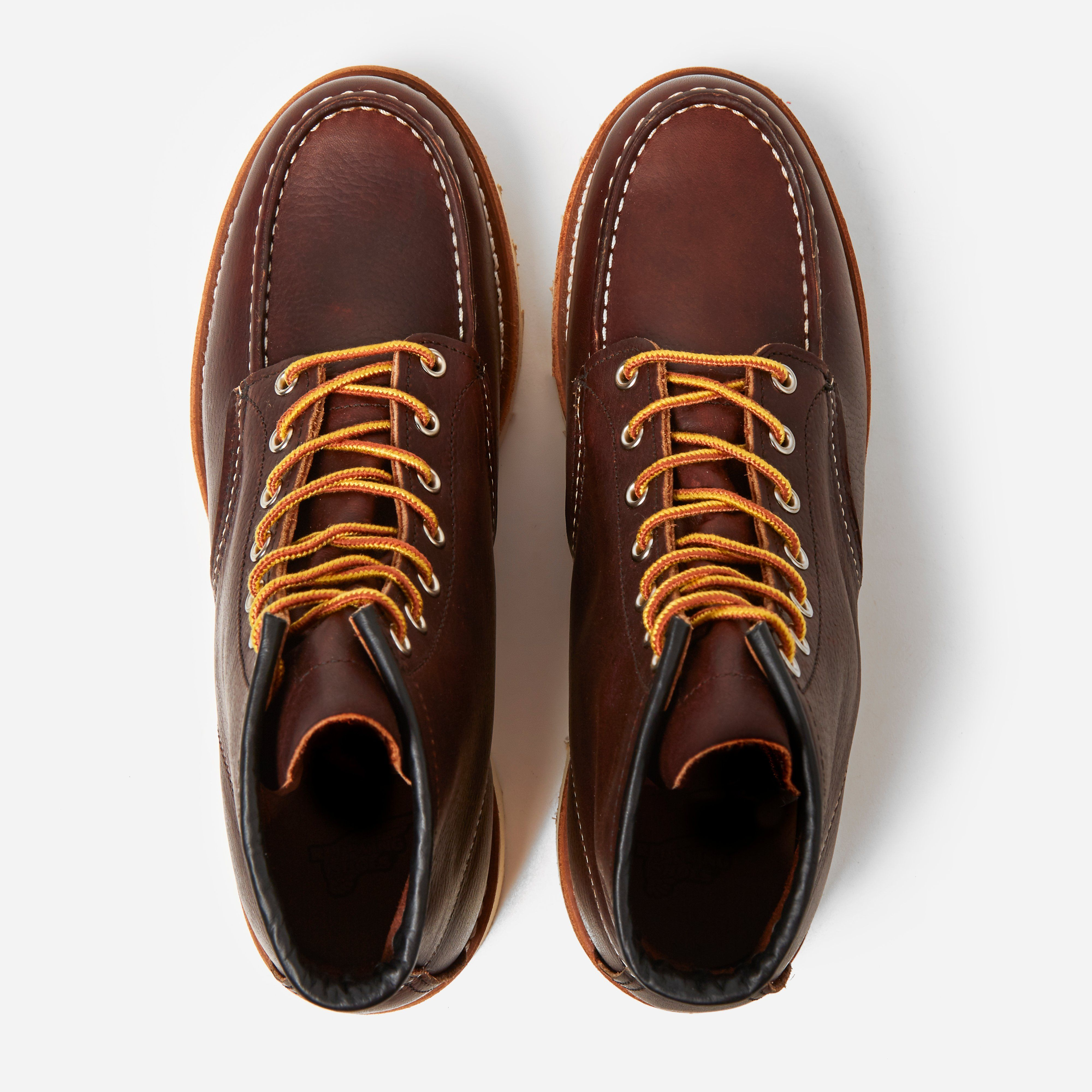"Red Wing 08138 6"" Moc Toe Boot"