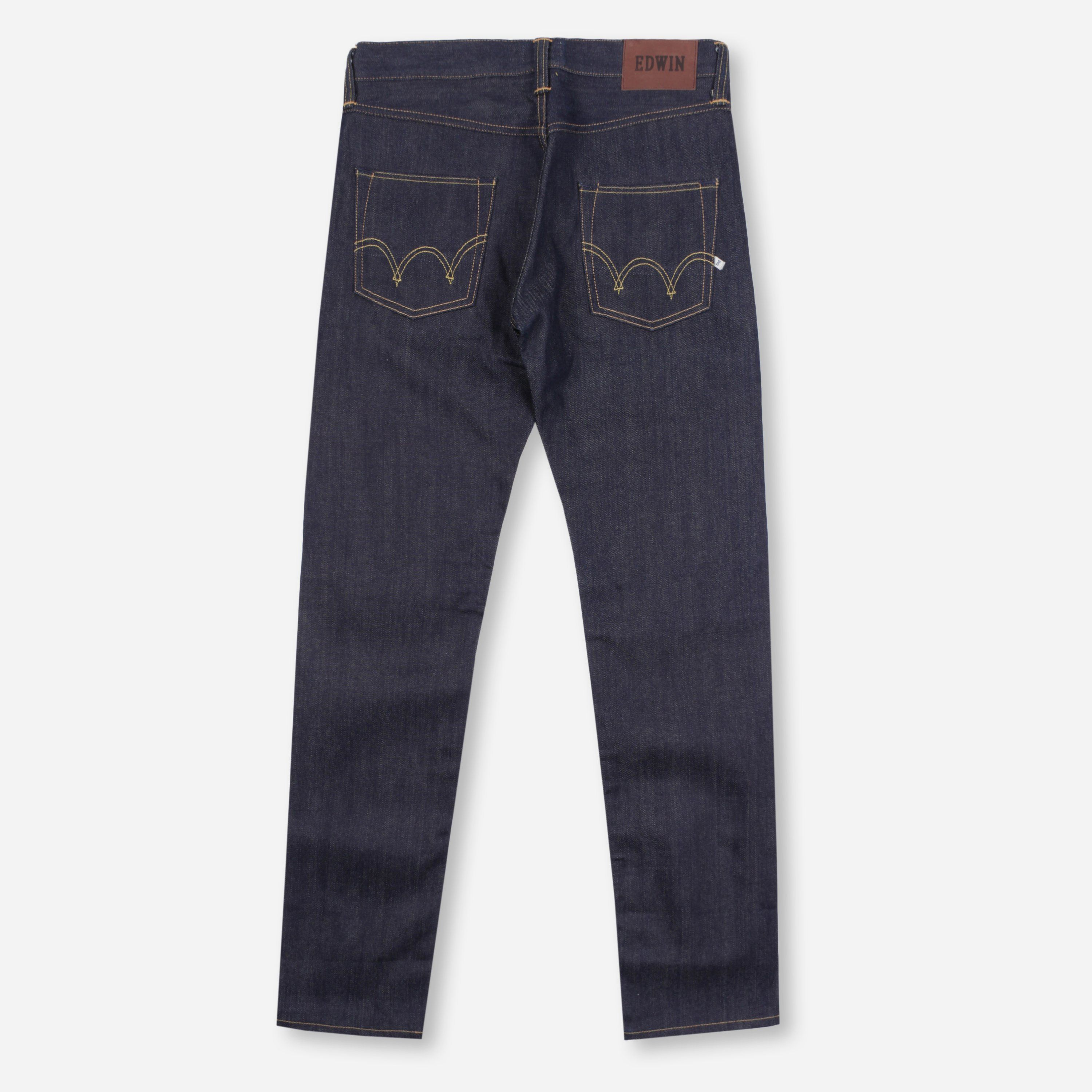 Edwin ED-55 Relaxed 63 Rainbow Selvage 12.8oz Unwashed