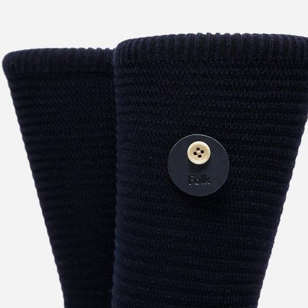 Folk Folk Rib Stripe Socks