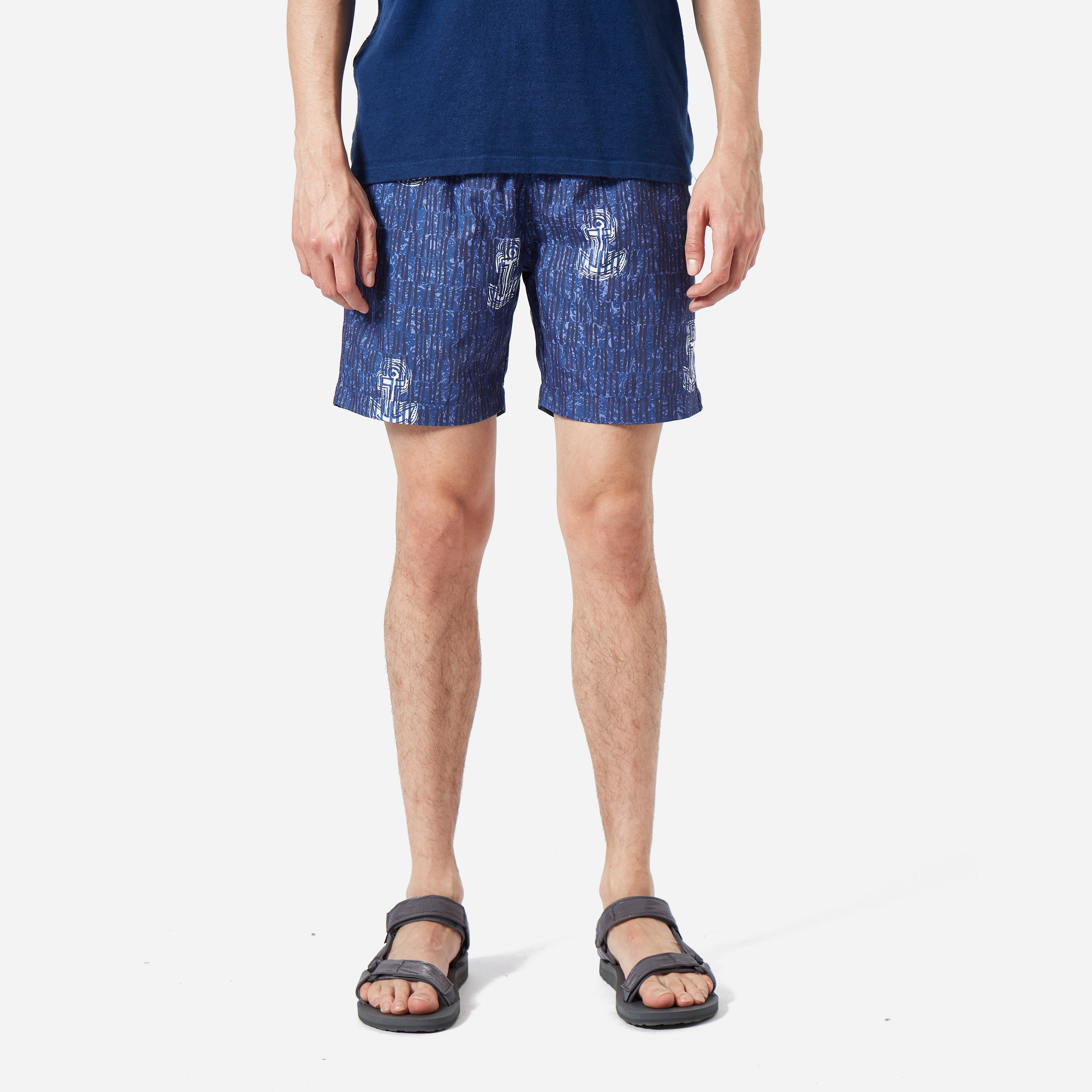 Universal Works St Ives Print Beach Short