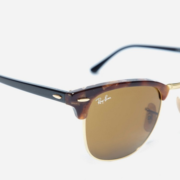 Ray-Ban Clubmaster Fleck Sunglasses