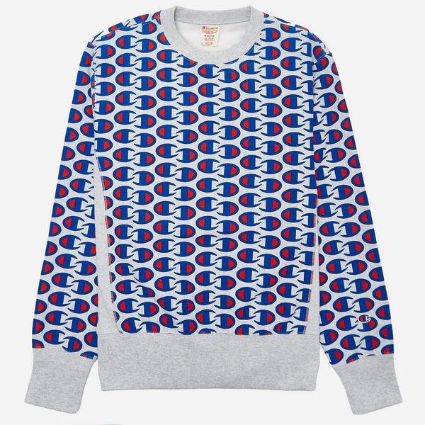 3022e6e0fd5d Champion All Over C Sweatshirt
