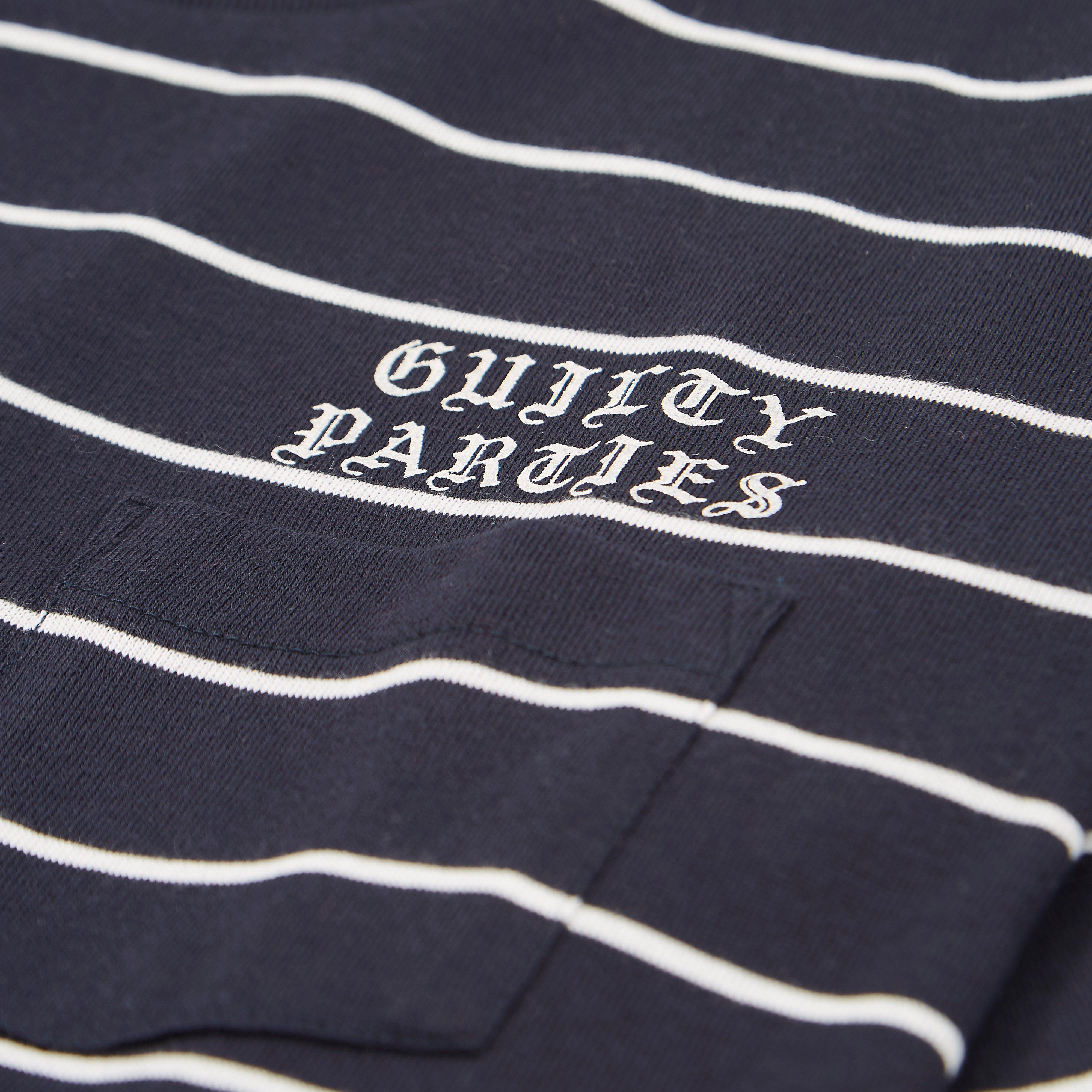 Wacko Maria Striped Crew T-shirt