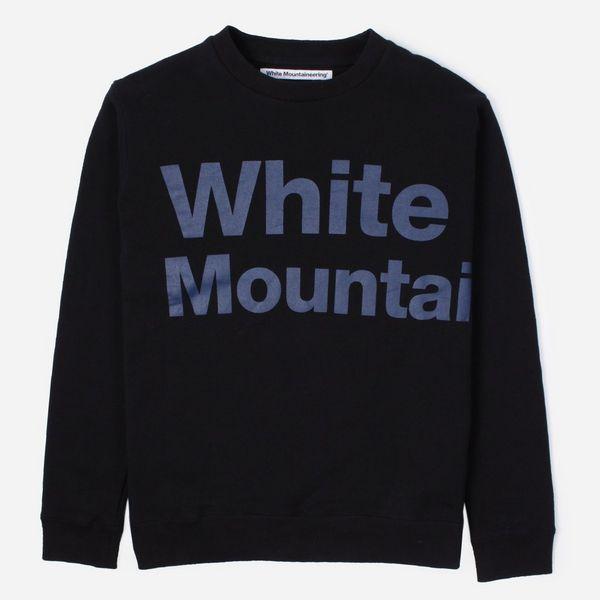 White Mountaineering Logo Sweatshirt