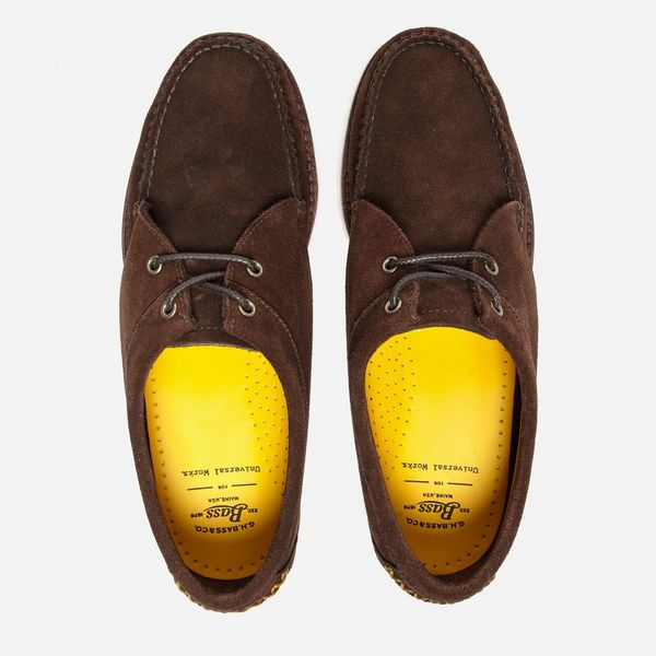 G.H. Bass & Co. x Universal Works Tie Wedge Penny Loafer