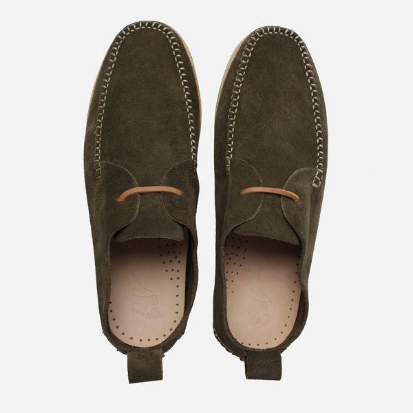 Yogi Footwear Lawson Crepe Suede Lace Up Shoe