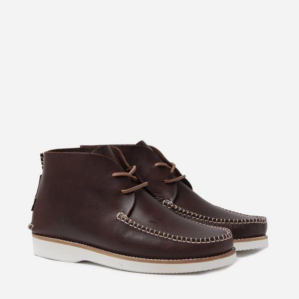 Yogi Footwear Lucas Vibram Leather Lace Up Boot