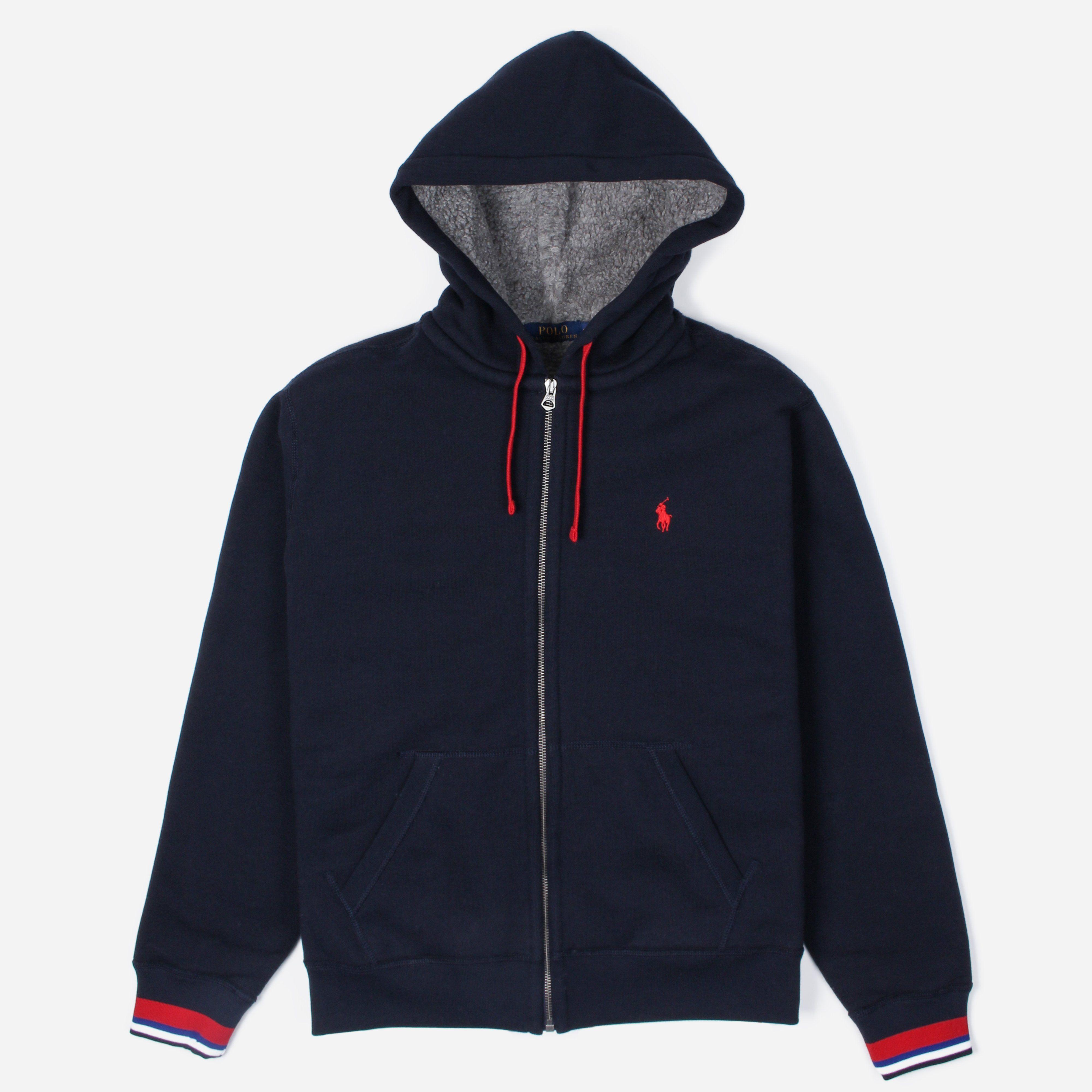 Polo Ralph Lauren Athletic Zip Through Hoodie The Hip Store