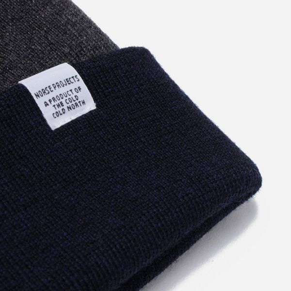 Norse Projects Colour Block Beanie