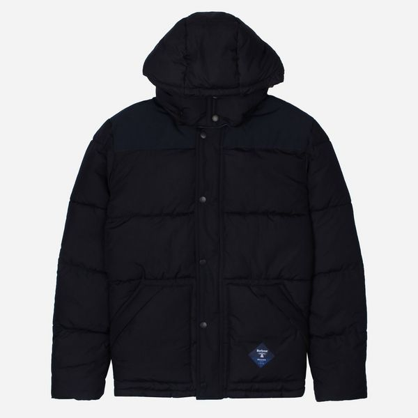 Barbour Beacon Mill Down Quilted Jacket