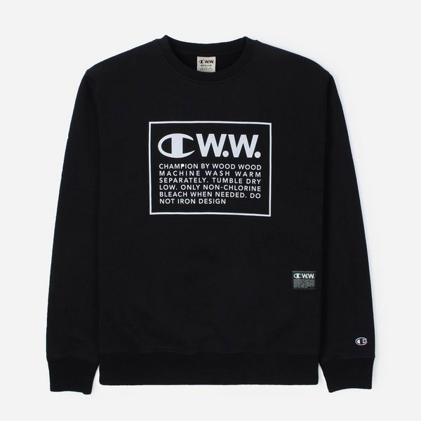 Champion x Wood Wood Logo Sweatshirt