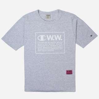 Champion x Wood Wood Logo Crew T-Shirt