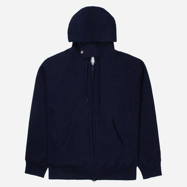 Engineered Garments Workaday Raglan Zip Hoodie