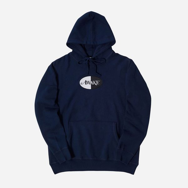 Awake NY Split Patch Logo Hoodie