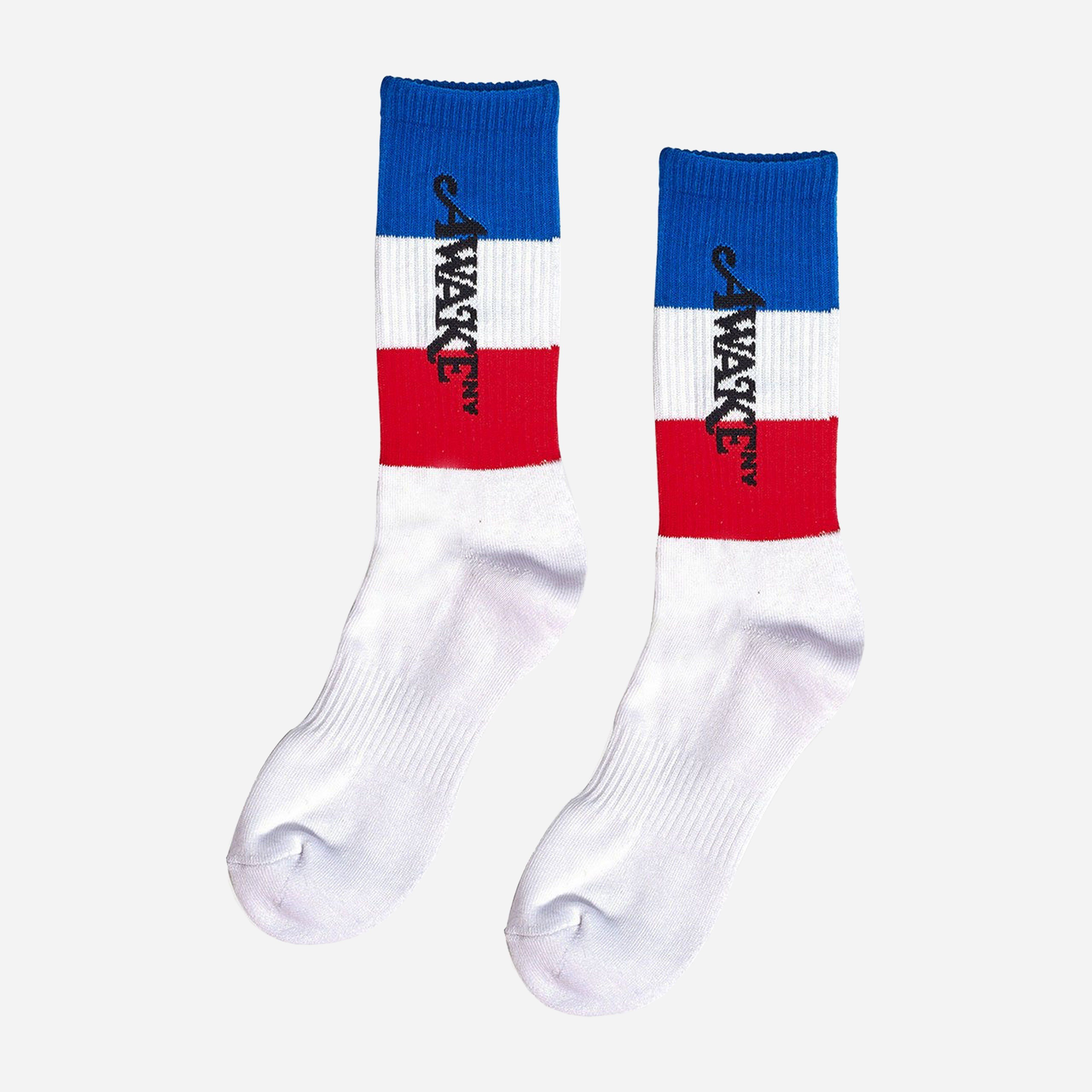 Awake NY Logo Flag Socks