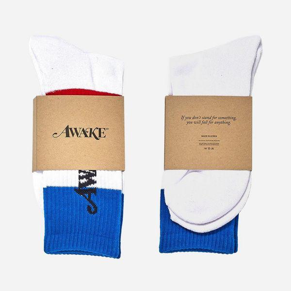 Awake NY Logo Flag Socks