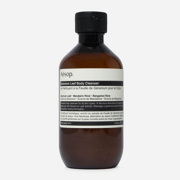 Aesop Geranium Leaf Body Cleanser 200ml