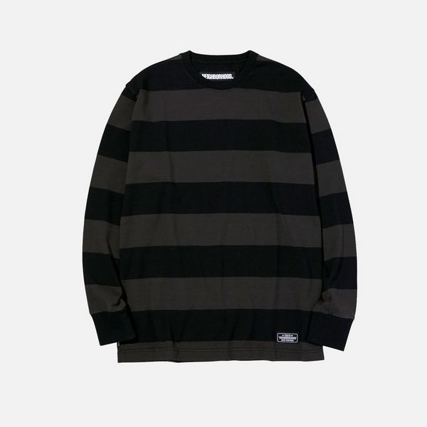 Neighborhood Crew Stripe Sweatshirt