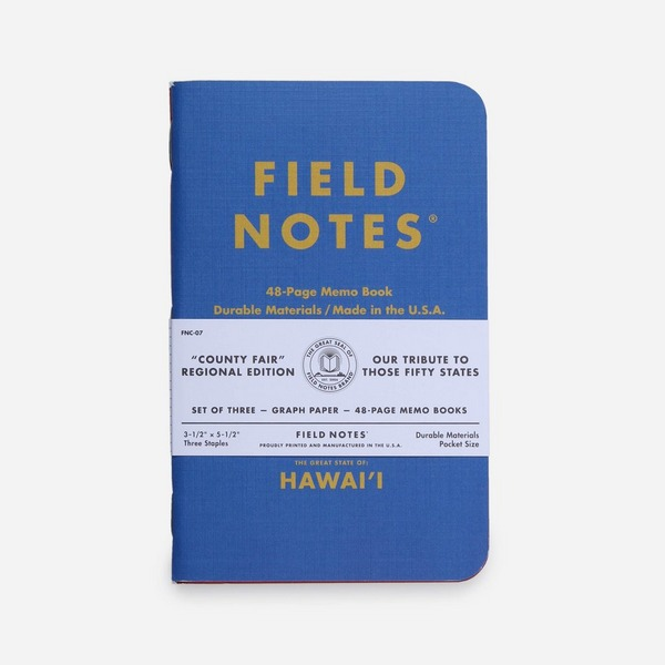 Field Notes Hawaii