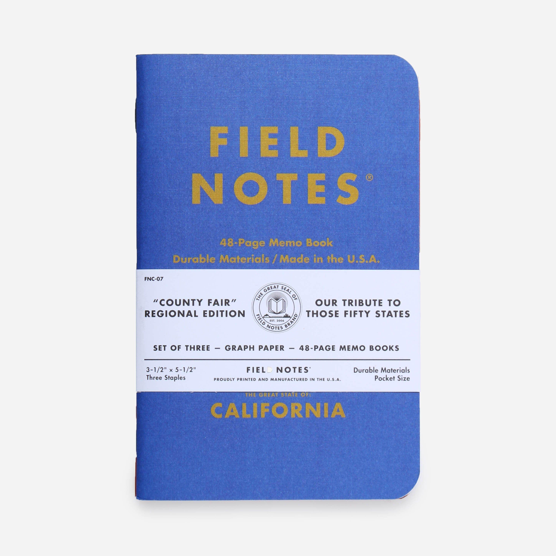 Field Notes California
