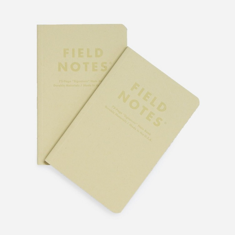 Field Notes Signature Ruled 2-Pack