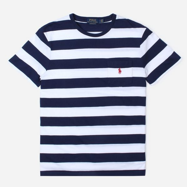 Polo Ralph Lauren Short Sleeve Stripe Jersey T-Shirt