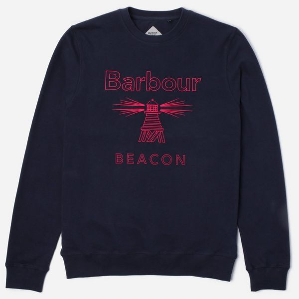 Barbour Beacon Stitch Crew Sweatshirt